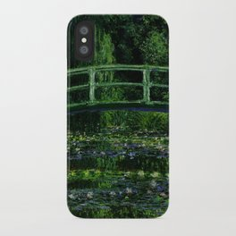 The Water Lily Pond Deep & Dark iPhone Case