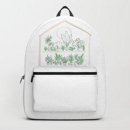 Plants Family 2 House/Shop OPEN Backpack