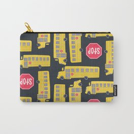 Bus Pattern Carry-All Pouch