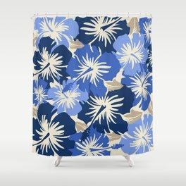 Epic Hibiscus Hawaiian Floral Aloha Shirt Print Shower Curtain