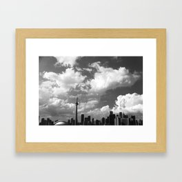 Toronto Framed Art Print
