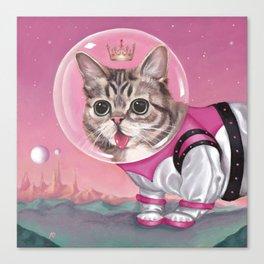 Supersonic Space Princess Canvas Print