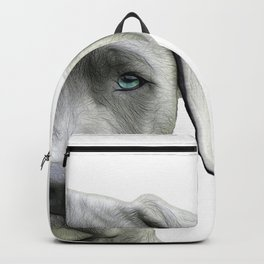 Just in View - Grey Dog Backpack