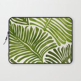 Summer Fern / Simple Modern Watercolor Laptop Sleeve