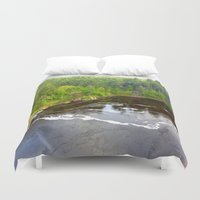 minnesota Duvet Covers featuring Minnesota Daybreak by JayKay