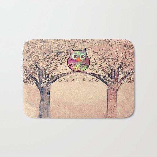 owl-245 Bath Mat