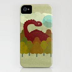RED DINO Slim Case iPhone (4, 4s)