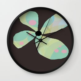 FLOWERY  KAYA / ORIGINAL DANISH DESIGN bykazandholly Wall Clock