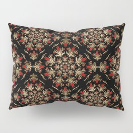 Turkish tulip - Ottoman tile pattern 15 Pillow Sham