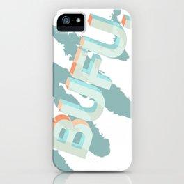 bufu iPhone Case