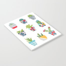 Funny cacti illustration Notebook