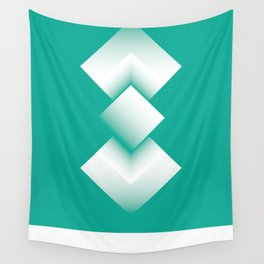 green energy tower Wall Tapestry