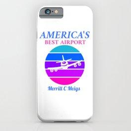 Best Airport: Merrill C Meigs  iPhone Case