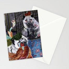 Prince and Princess Fox Stationery Cards