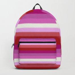 Lesbian Pride Flag v2 Backpack