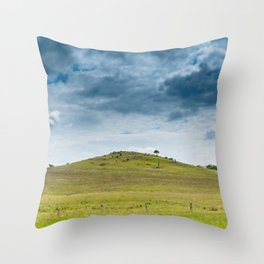 Storm Front over the Hunter Valley, Australian Landscapes Throw Pillow