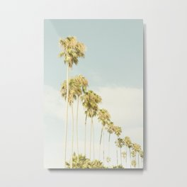 Palm Clouds Metal Print