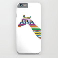 Giraffe with Tribal Pattern Slim Case iPhone 6s