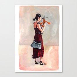 Lobster Love Canvas Print