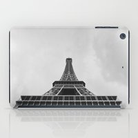 eiffel tower iPad Cases featuring Eiffel Tower by Evan Morris Cohen