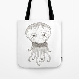 Cracked Octopus Tote Bag
