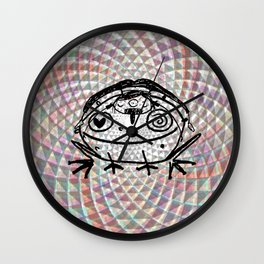 toad medicine Wall Clock