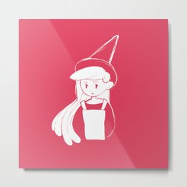 Little Witch Elefthrea Metal Print