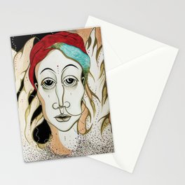 Angel Aiya Channeled Painting Sacred Art High Frequencies Stationery Cards