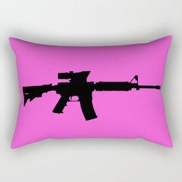 M4 Assault Rifle Rectangular Pillow