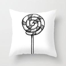 Lollipop Throw Pillow
