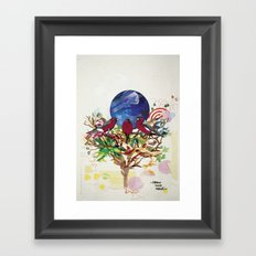 Home Sweet Home. Framed Art Print