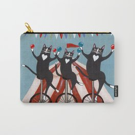 The Circus Cats Carry-All Pouch