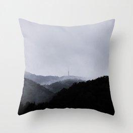 Sljeme Zagreb 11.9.2017. Throw Pillow