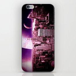 New New York : Galaxy City iPhone Skin