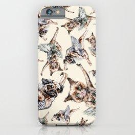 Hipster Ballerinas - Dog Cat Dancers iPhone Case