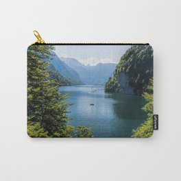 Germany, Malerblick, Koenigssee Lake III- Mountain Forest Europe Carry-All Pouch