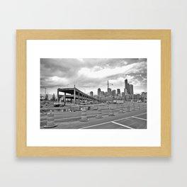 ending or beginning? Framed Art Print