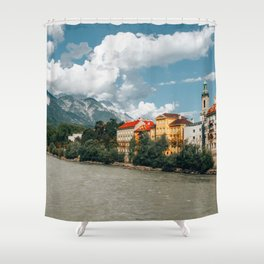 Rivers Flow Inn You | Innsbruck, Austria Shower Curtain