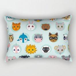 Baby Animal Dots Rectangular Pillow