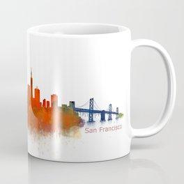 San Francisco City Skyline Hq v2 Coffee Mug