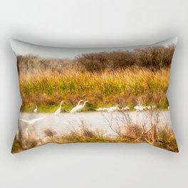 The Gathering Place Rectangular Pillow