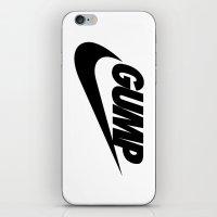 forrest gump iPhone & iPod Skins featuring Gump Just Do It by IIIIHiveIIII