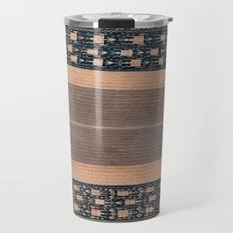Atoni West Timor Amanatun Indonesian Wrap for Woman Print Travel Mug