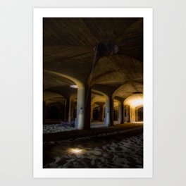 Time passing in the cells Art Print