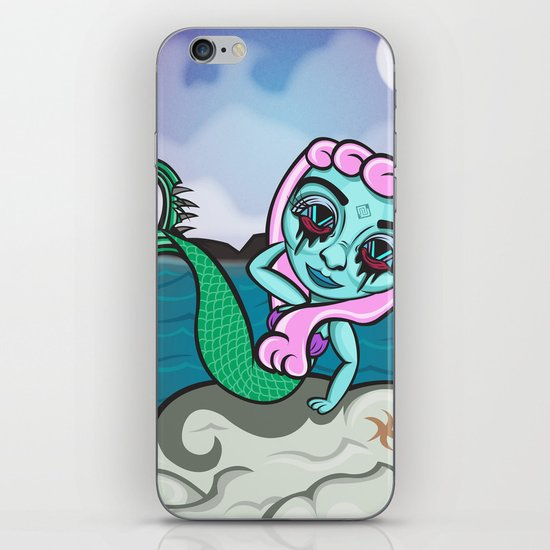 """""""Draw me like one of your French Girls!"""" iPhone & iPod Skin"""