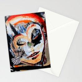 Verano - Vegan series - Original painting - Marina Taliera Stationery Cards