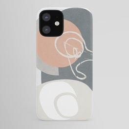 Abstract Minimal Geometry 16 iPhone Case