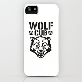 Wolf Club iPhone Case