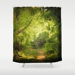 The Secret Path Shower Curtain