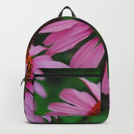 Purple Flower Garden Backpack